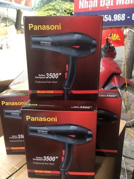 Máy sấy tóc 2 chiều Panasoni công suất 3100W có ánh sáng xanh kháng khuẩn - May say toc 3500W giá rẻ