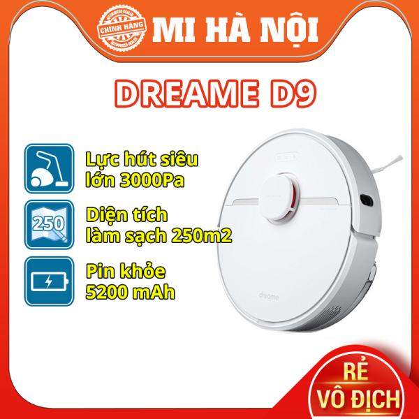 Robot hút bụi Xiaomi Dreame D9 / Dreame F9 Chính Hãng – Bản Quốc tế