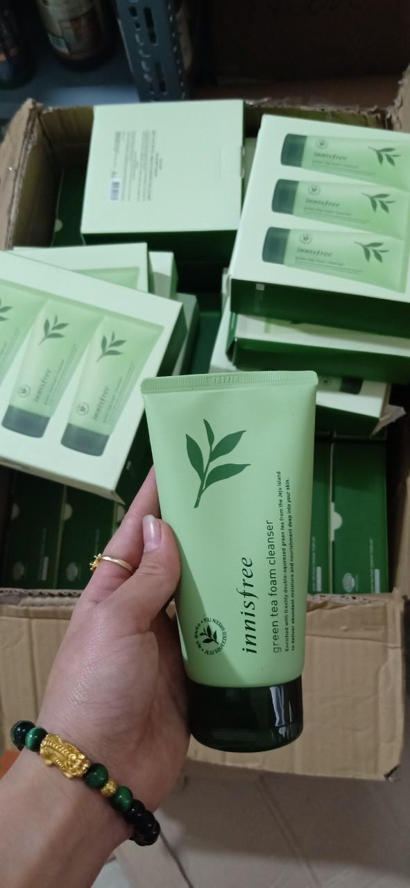 Sữa rửa mặt trà xanh Innisfree chính hãng