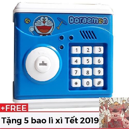 [HOT TẶNG 5 BAO LÌ XÌ 2019]Két sắt mini nhỏ (không hút tiền)