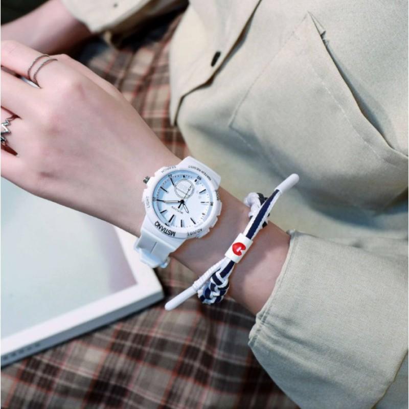 Nơi bán [Thu thập mã giảm thêm 30%] Đồng hồ dáng chuẩn mstianq shop về 3 màu cho cả nam và nữ nhé cam kết hàng đúng mô tả chất lượng đảm bảo đa dạng mẫu mã và kích cỡ