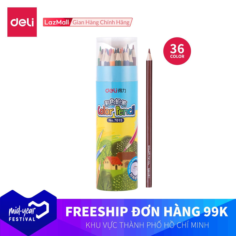 Mua DELI 7015  Bút chì màu học sinh 177 mm Nhiều màu-36 cái/hộp