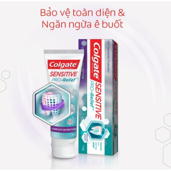 Kem đánh răng Colgate Sensitive ngăn ê buốt và bảo vệ toàn diện tuýp 110g1