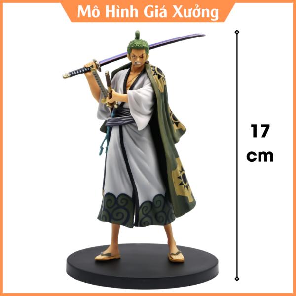 Mô Hình Roronoa Zoro ở Vương quốc Wano Cao 19cm -Tượng Figure One Piece