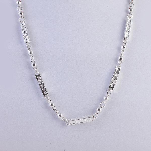 Dây chuyền  ,vòng cổ bạc thái S925 đốt trúc khắc rồng sang chảnh tinh tế