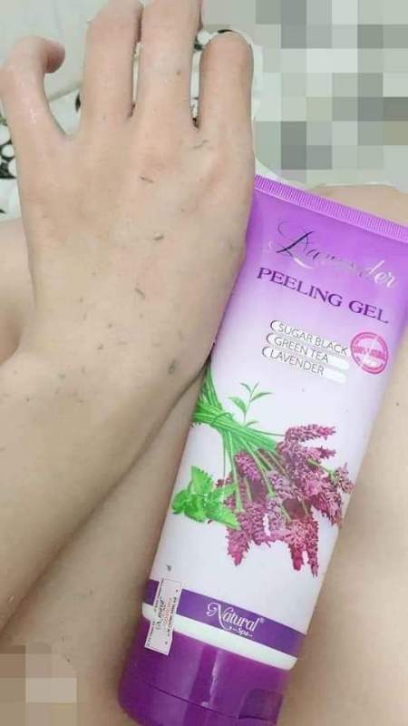 Tẩy tế bào chet Lavender
