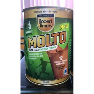Sữa bột Canxi ca cao Robert Timms Molto Australia 450g giúp tăng trưởng chiều cao, bổ sung Canxi 6