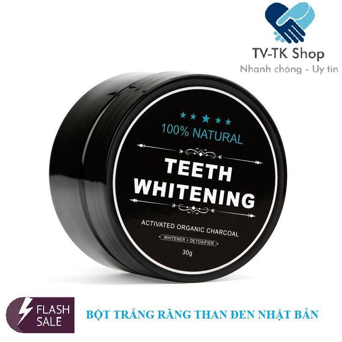 Bột Trắng Răng Than Tre Hoạt Tính Teeth Whitening (Mẫu mới) chính hãng