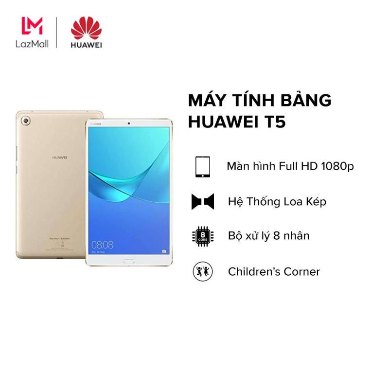 TRẢ GÓP 0%-BẢO HÀNH CHÍNH HÃNG|Máy tính bảng Huawei T5 (2GB/16GB) - Màn hình 10.1 Màn hình FullHD 1080p Kirin 650 8 nhân Pin khủng 51000mAh Micro SIM