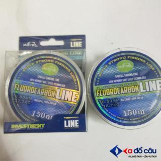 Dây cước câu cá FluoRocarbon Russia 150M thumbnail