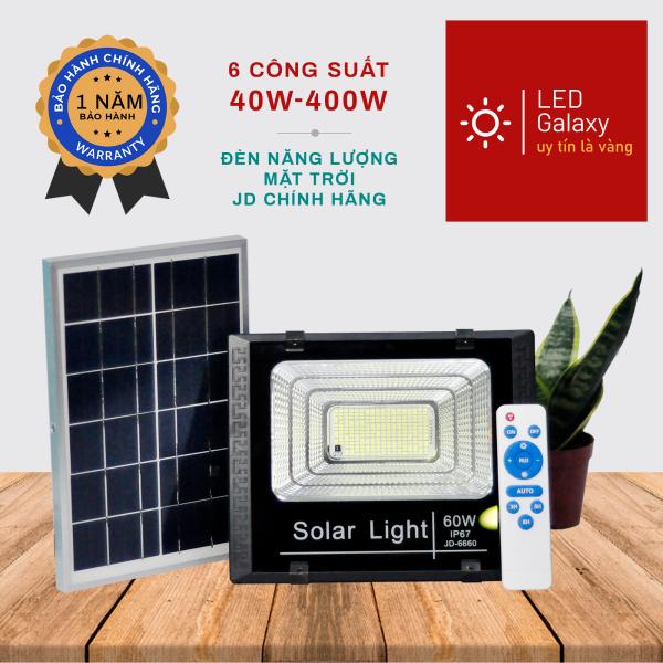 Bảng giá Đèn pha năng lượng mặt trời 2021 JD-ABS công suất 40-400w