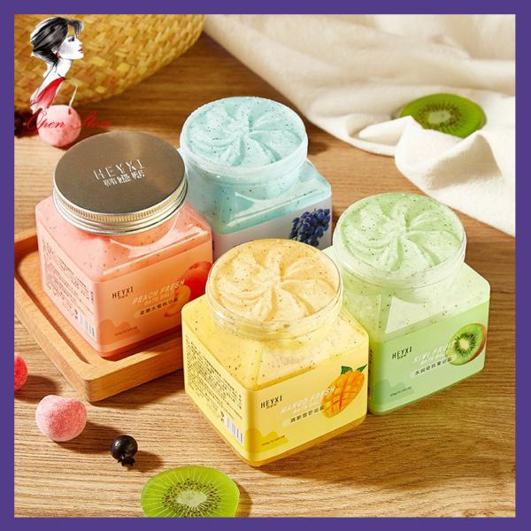 [HCM]Muối Tắm Tẩy Tế Bào Chết Body Heyxi Bath Salt Scrub 350g Vị Hoa Quả Sử Dụng Như Muối Bò Làm Sạch Da Mụn Lưng Giúp Da Trắng Sáng OPEN