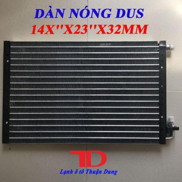 Dàn Nóng DUS 14x23 inch 36x59 cm dày 32mm, Dàn Nóng Điều Hòa Ô Tô