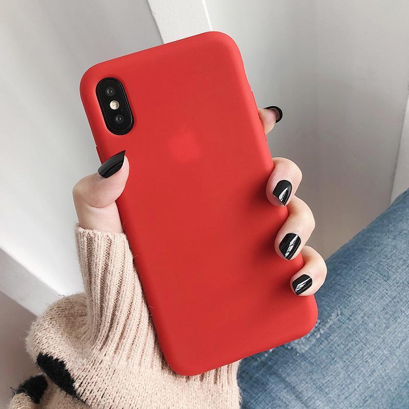 Giá Ốp điện thoại trơn dành cho iphone 5, 5S, iphone 6, iphone 6plus, iphone 6s, iphone 7, iphone 8, iphone 11, iphone XS, iphone XS max