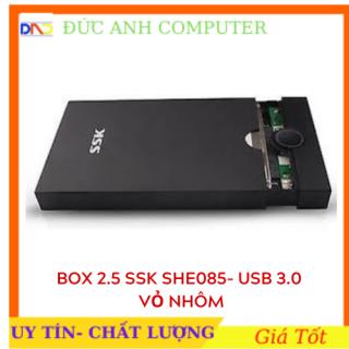Box HDD 2.5 SSK SHE085 Sata USB 3.0 5Gbps hỗ trợ ổ cứng lên đến 2TB- Chính Hãng 100% Full Box thumbnail