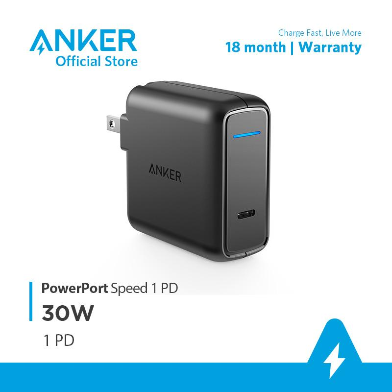Sạc ANKER PowerPort Speed 1 cổng USB-C Power Delivery 30W - A2014