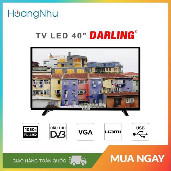 Bảng giá TV LED Darling 40 inch 40HD957T2 (Full HD, truyền hình KTS) - Bảo hành toàn quốc 2 năm