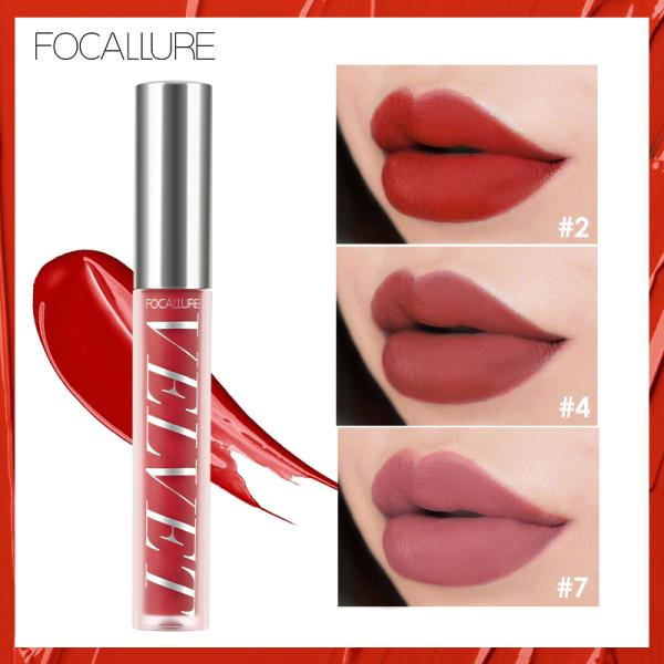 FOCALLURE New Fashion Makeup Lipstick Matte Liquid Lipstick Gloss