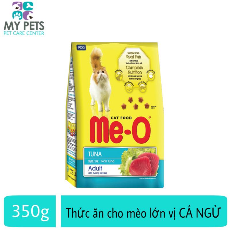 Thức ăn hạt khô dành cho mèo trưởng thành hương vị cá ngừ - Me-o Adult Túi 350g