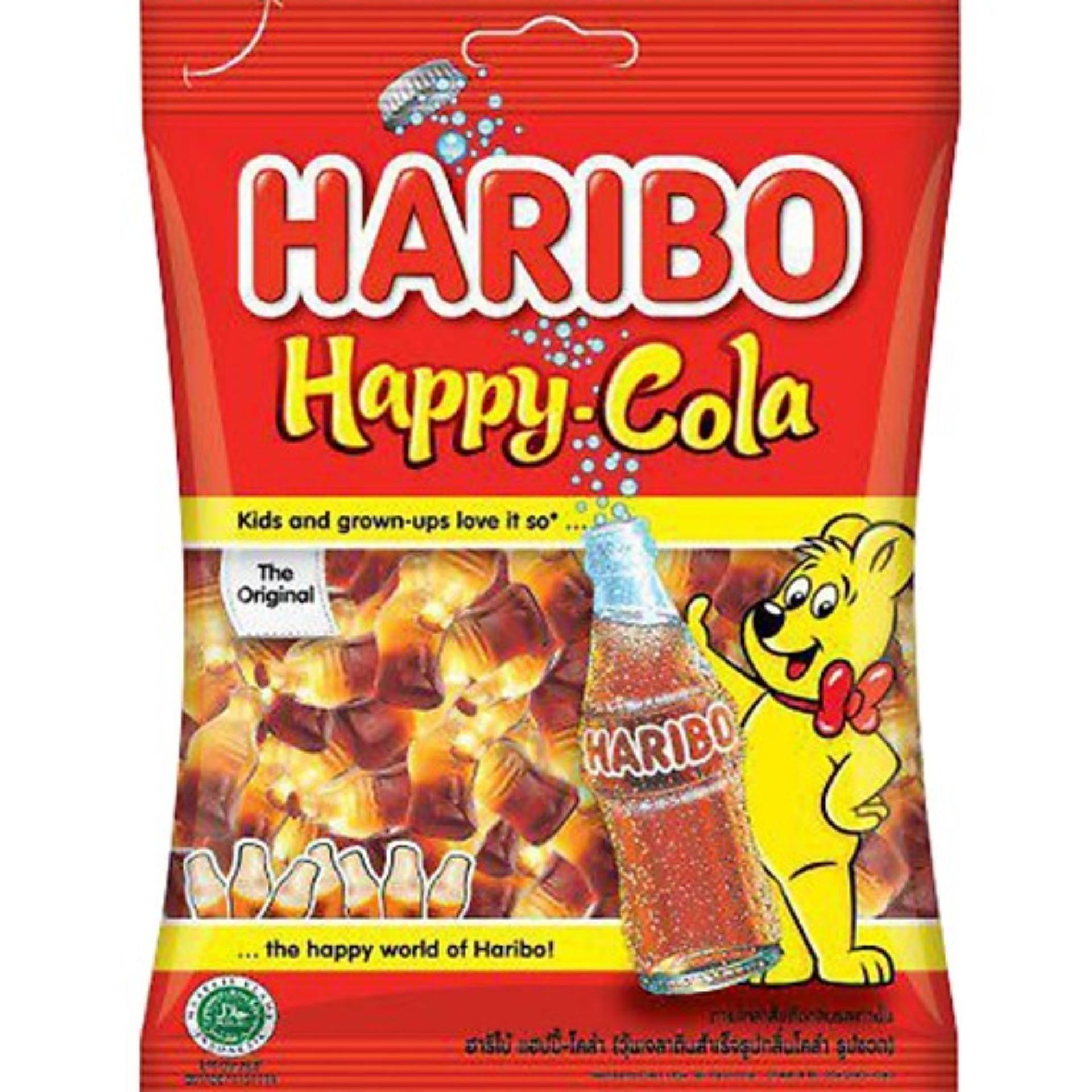 Kẹo dẻo Haribo Happy Cola 80gr