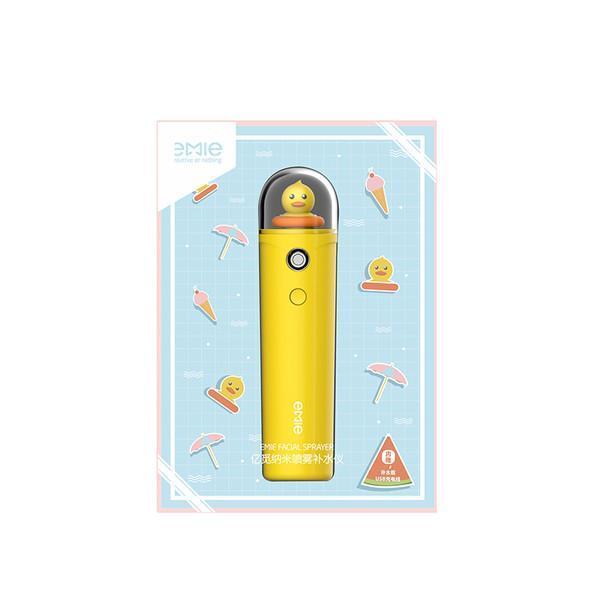 Máy Xông Hơi Mặt NaNo Xịt Khoáng Cầm Tay Cấp Ẩm Đẹp Da EMIE - Yellow Duck