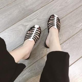 Dép sục nữ quai đan rọ lạ mắt cực xinh, mang êm chân HOT TREND 2021 Hatashop, sục rọ nữ đẹp 3