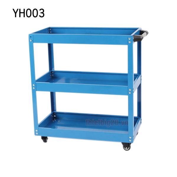 Xe đẩy đồ nghề dụng cụ 3 ngăn YH-003