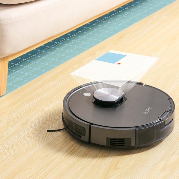 Robot hút bụi lau nhà Ilife X900 là một trong những robot thông minh nhất của Ilife, HÀNG MỚI 100% BẢO HÀNH 12 THÁNG