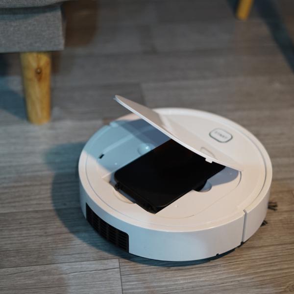 Robot Hút Bụi Tự động Lau Nhà, Tự Động Phát Hiện Các Đồ Nội Thất Di Chuyển Dễ Dàng Làm Sạch Các Vị Trí Khó Như Gầm Giường, Tủ, Gầm Ghế Sofa - Chỉ Số Độ Ồn Cực Thấp. Bảo hành 3 tháng
