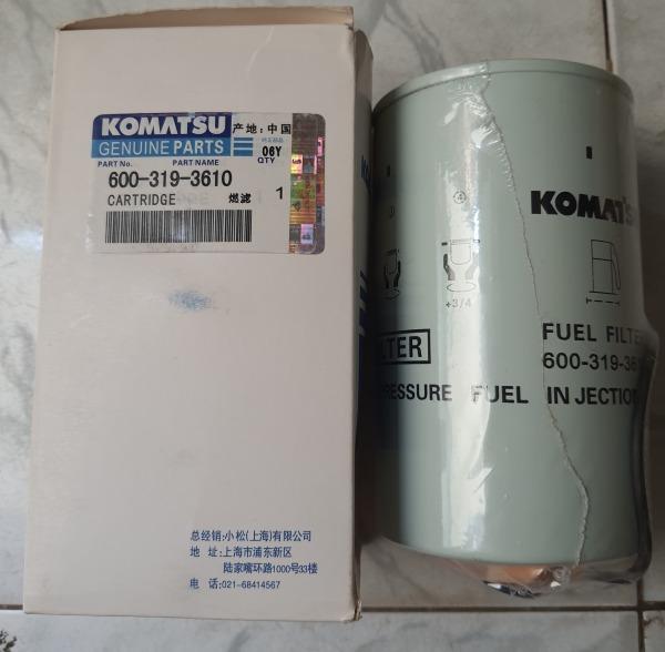 Lọc nhiên liệu cho xe cuốc KOMATSU PC200-8, PC300-8, 600-319-3610