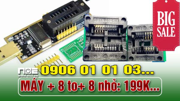 Bảng giá Máy nạp rom mini + 8 to+ 8 nhỏ Phong Vũ