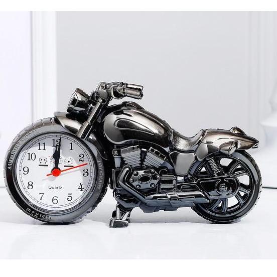 Nơi bán Đồng hồ để bàn hình Xe Máy, Mô tô - Mẫu đồng hồ để bàn, đồng hồ báo thức HOT nhất 2019 - DH75