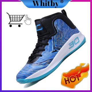 Whitby 2020 Giày Thể Thao Ngoài Trời Cho Nam Giày Bóng Rổ Chống Trượt Chống Mài Mòn Size Lớn Năm thumbnail