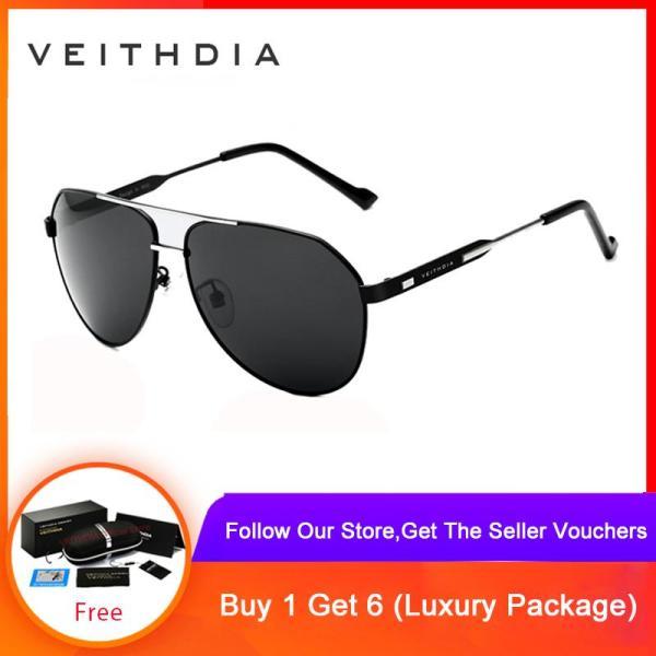 Giá bán VEITHDIA Mens Sunglasses Polarized Mirror Lens  Eyewear Accessories Glasses For Men/Women 3562