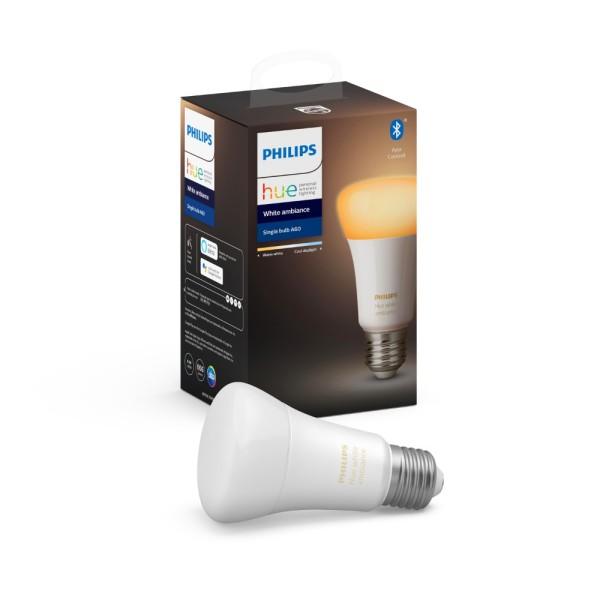 Bóng đèn thông minh Philips Hue White Ambiance 8.5W A60 E27