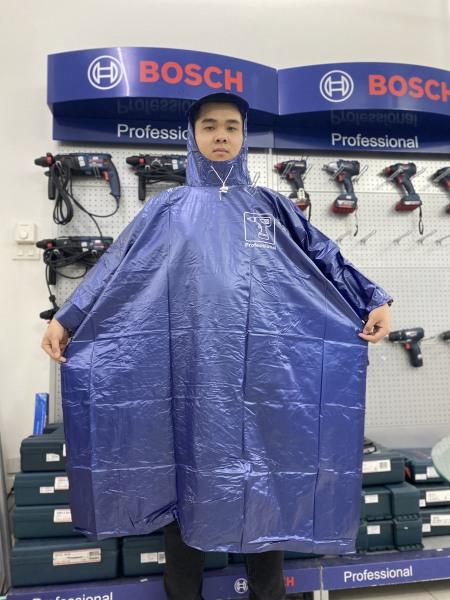 Áo mưa đơn cao cấp cho người đi xe máy Bosch (2 Loại gửi ngẫu nhiên)