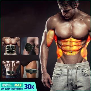 Miếng dán xung điện tập Gym Beauty Body, Máy đánh tan mỡ bụng tốt, May matxa rung, Máy massage giá rẻ 6 múi, may massage thông minh thumbnail