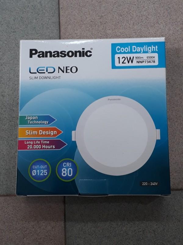 Bảng giá ĐÈN LED ÂM TRẦN 12W PANASONIC PHI 125