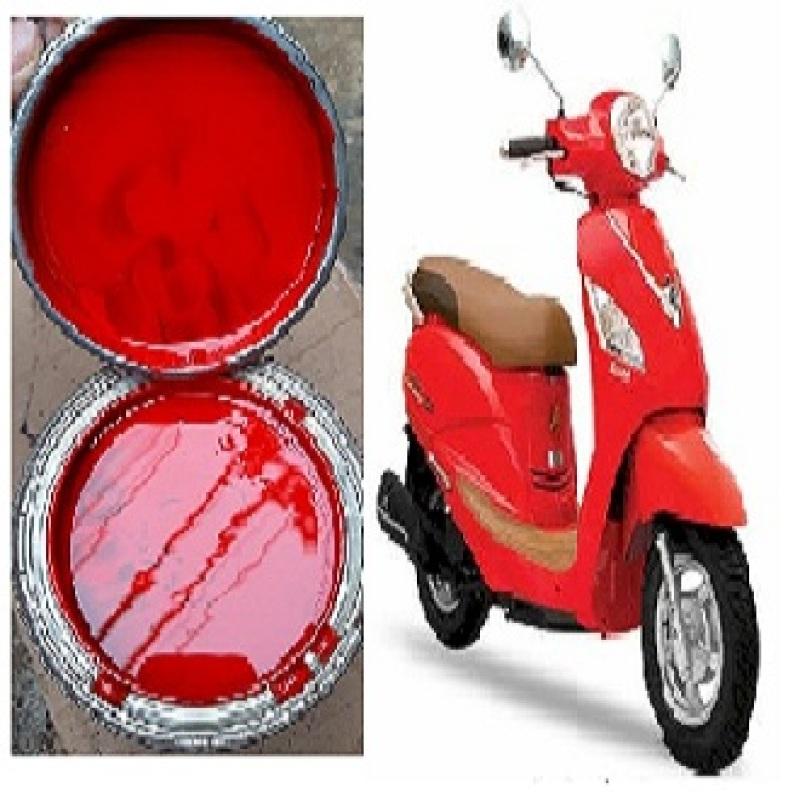 1 lạng màu xe máy SYM Elizabeth đỏ 1 thành phần cho xe đẹp như mới