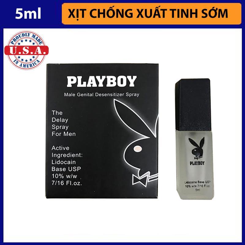 Chai xịt chống xuất tinh PlayBoy nhập khẩu