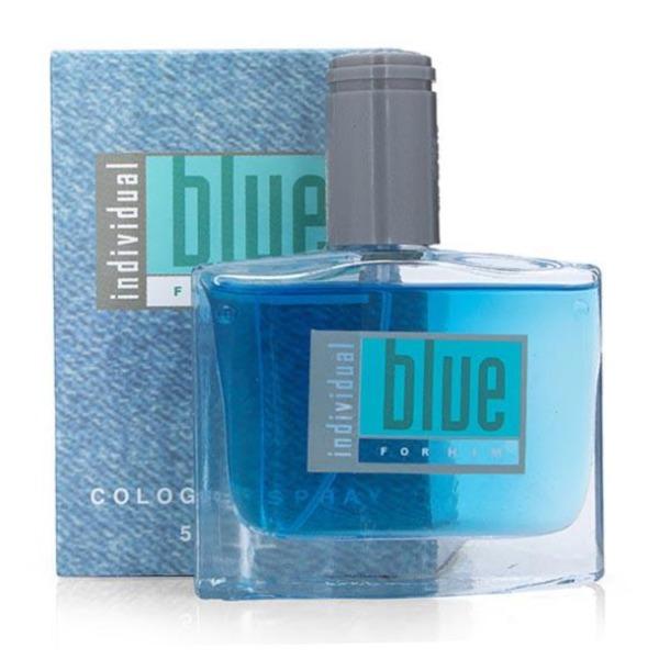 Bộ 2 Nước hoa nam-nữ Blue 50 ml hương thơm nồng nàn dạng chai thủy tinh xịt