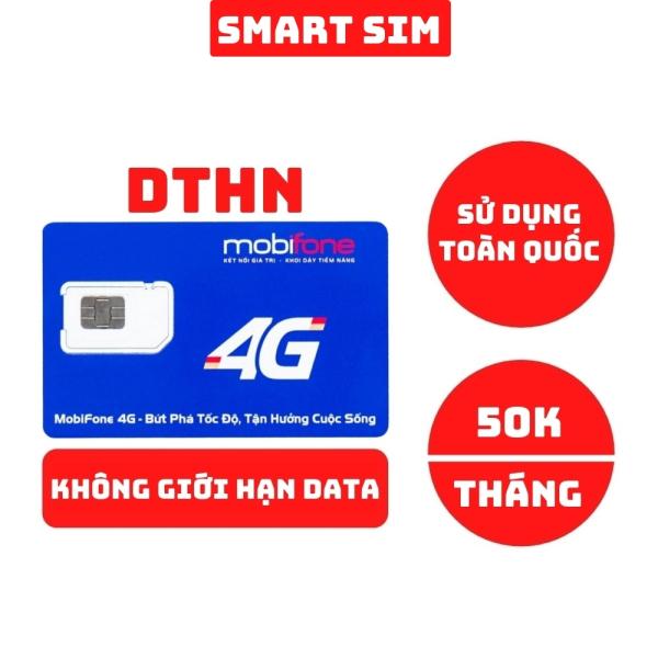 Sim 4G Mobifone C90N tặng 120GB data mỗi tháng, free gọi nội mạng và ngoại mạng - Smart Sim HC
