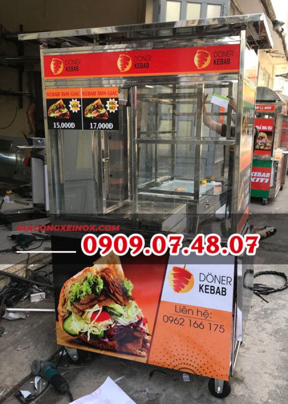 Bảng giá Xe bánh mì Doner Kebab 1M Điện máy Pico