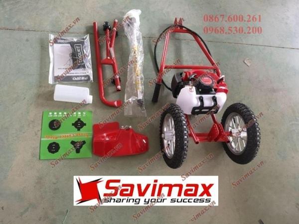 Máy cắt cỏ đẩy tay Savi330 sử dụng động cơ 2 thì giá rẻ - SAVI330