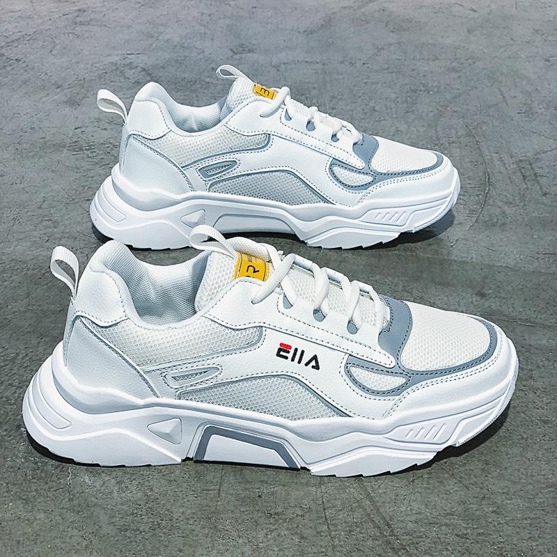 (KÈM VIDEO) Giày sneakers thời trang nam - ELLAAA phản quang có 2 màu - B end T Shop