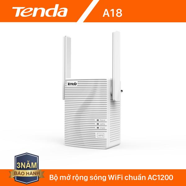Bảng giá Tenda Bộ kích sóng Wifi A18 Chuẩn AC 1200Mbps - Hãng phân phối chính thức Phong Vũ