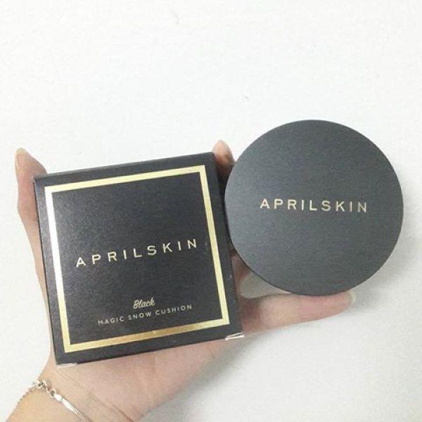 Phấn Nước cushion che khuyến điểm, kiềm dầu April đen tốt nhất