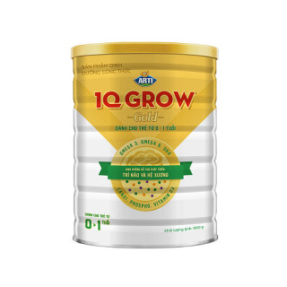 Sữa Arti IQ Grow Gold từ 0-1 tuổi 400g & 900g - NPP chính hãng thumbnail