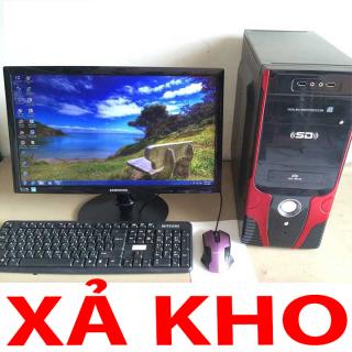 Máy vi tính PC bộ máy tính văn phòng, máy tính bàn học online thumbnail