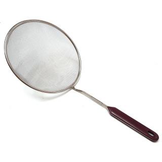 Đồ gia dụng tiện dùng trong nhà bếp - Vớt lọc bằng inox cỡ to đường kính 19,5cm thumbnail